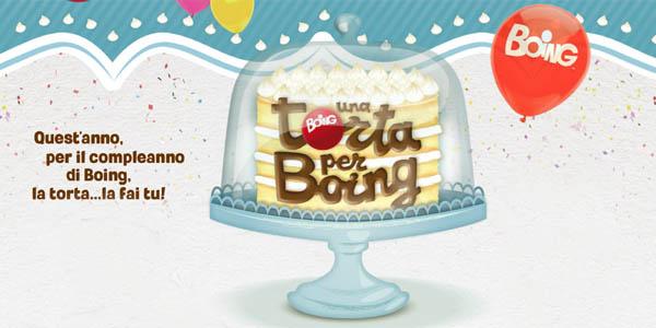 boing compleanno 8 concorso torta