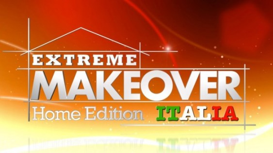 extreme makeover home edition italia logo
