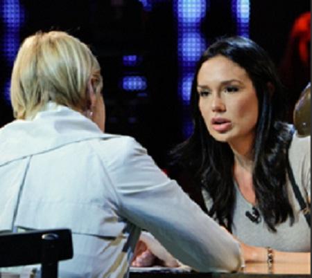 Nicole Minetti a Cielo che gol: intervista