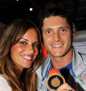 Foto Aldo Montano e Antonella Mosetti