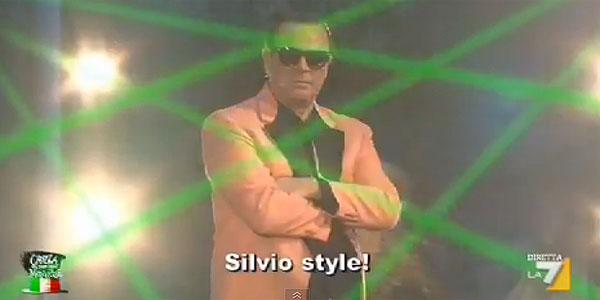 opla silvio style crozza la7 gangnam style