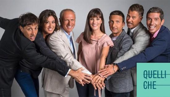 foto del cast di quelli che, raidue