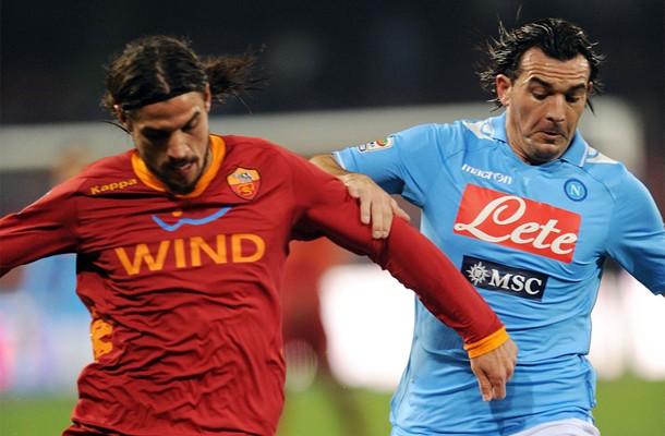 Napoli - Roma, stadio San Paolo