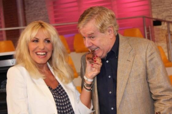 Antonella Clerici e Claudio Lippi