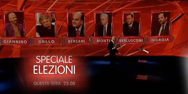 confronto speciale elezioni 2013