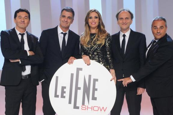 Foto conduttori Le Iene