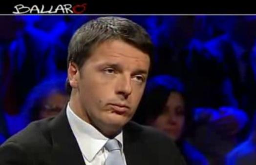 Intervista Matteo Renzi a Ballarò