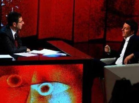 Che tempo che fa: sabato 27 aprile ospite Matteo Renzi