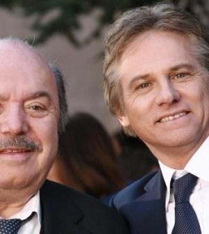 Giulio Scarpati e Lino Banfi