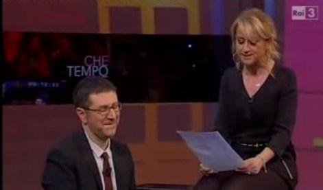 """Luciana Littizzetto a Che tempo che fa, la letterina a Napolitano: """"Fatti eleggere Re Giorgio"""""""