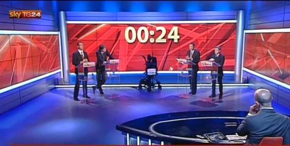 Comunali Roma 2013, confronto tv