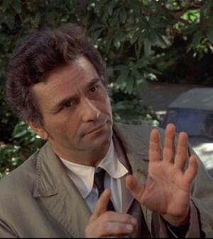 Peter Falk interpreta l'agente Colombo