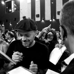 Foto Max Pezzali Giffoni autografi