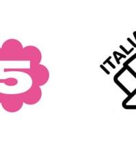 la5 italia 2 logo