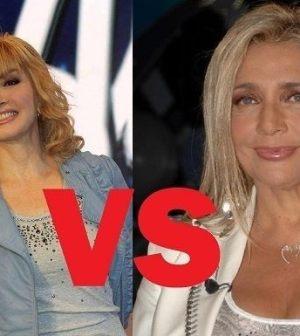 foto mara venier vs milly carlucci