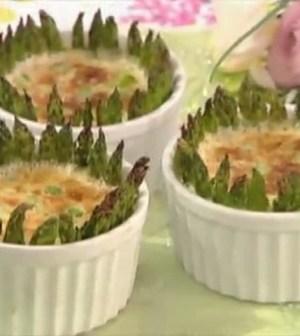 foto timballo di asparagi
