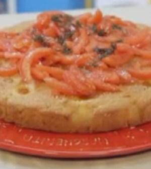 foto torta ai tre pomodori