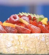 foto torta charlotte ai frutti rossi
