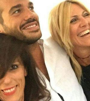 Claudio Sona del Trono Gay in dolce compagnia. LA FOTO