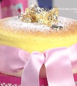 La prova del cuoco: cotton cheesecake, treccia taleggio e pere, Danubio