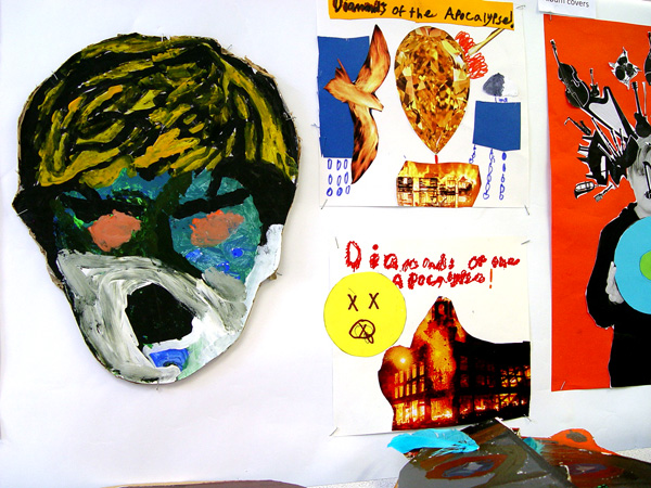 Leaver's Assembly Art Exhibition