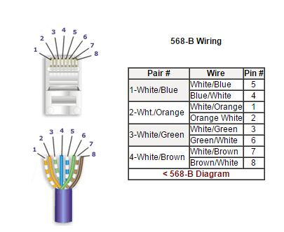 Cat 6 Wiring Diagram Connector Electronic Schematics collections