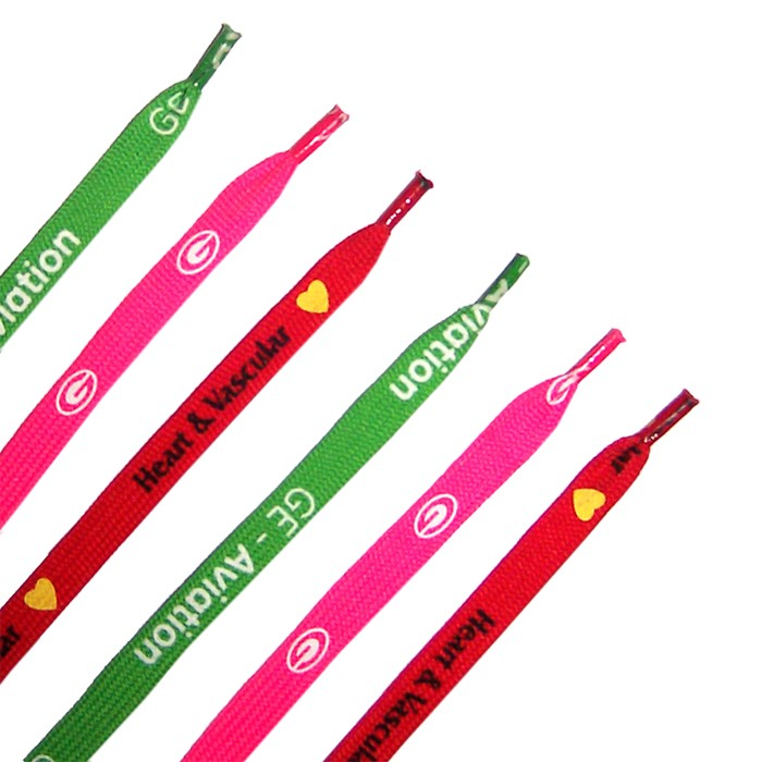 Custom Printed Promotional Shoelaces