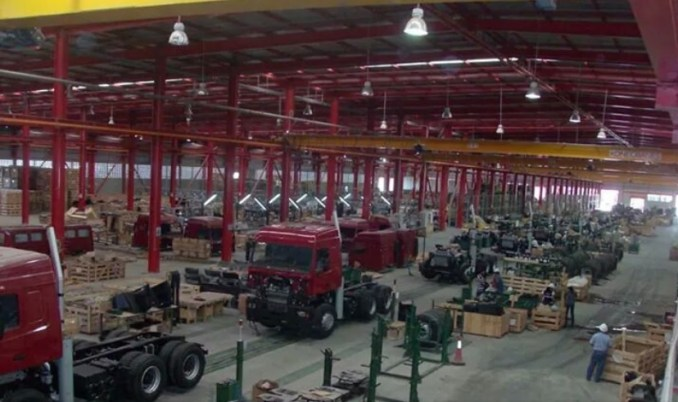 Instalaciones de ensamblado de la empresa MazVen C.A. en el Complejo Industrial Santa Inés del estado Barinas