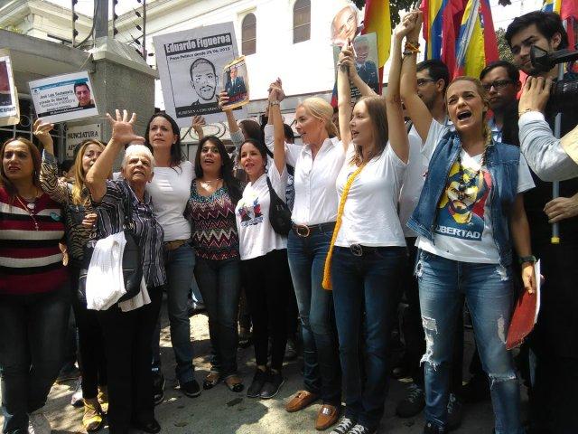 familiares de presos políticos