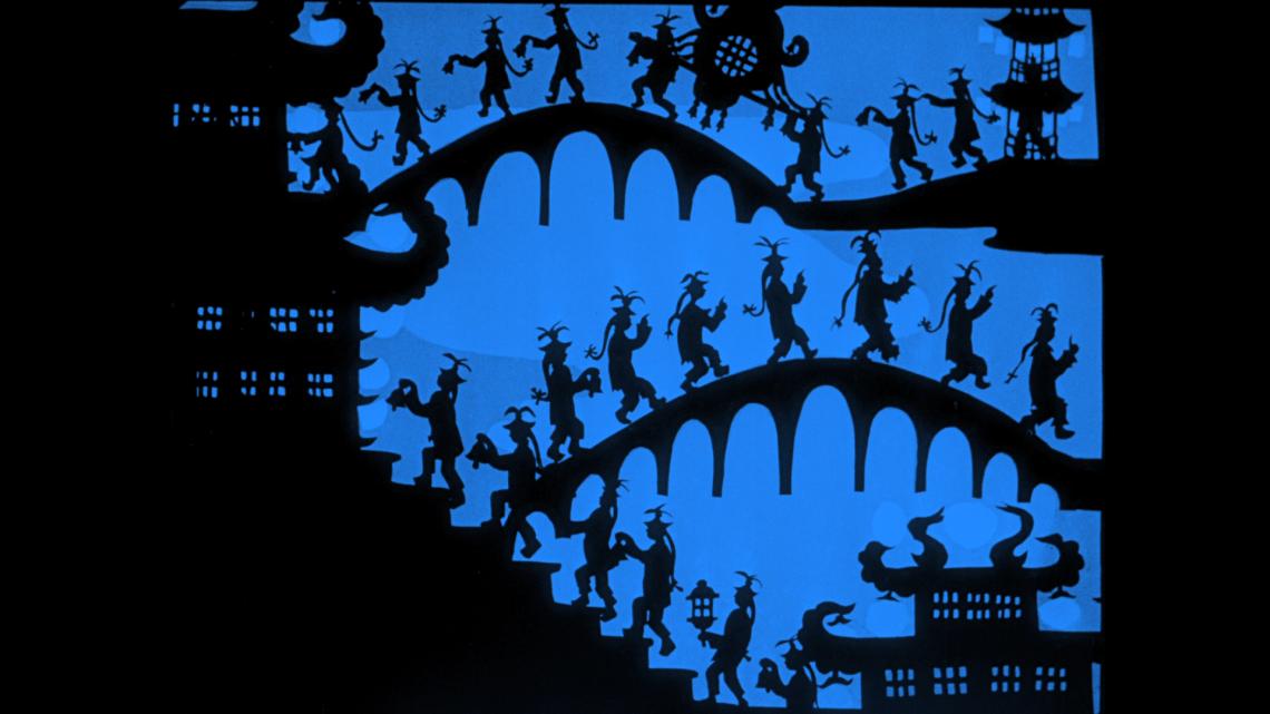 Fotograma de la película Las Aventuras del Príncipe Achmed