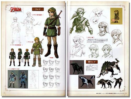 Libro de arte de 'Zelda Hyrule Historia'.
