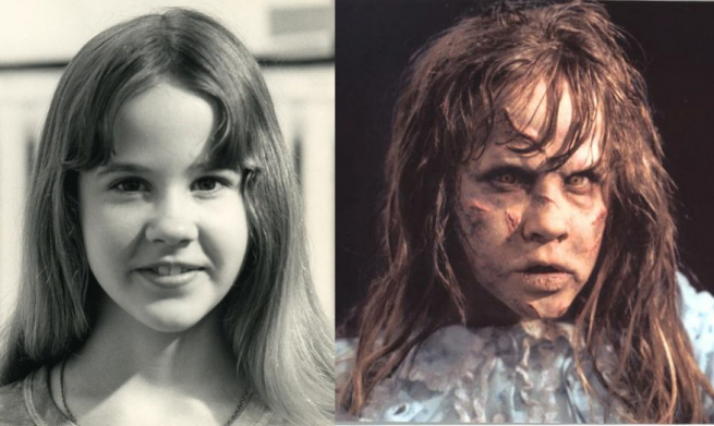 Caracterización de Linda Blair en su papel de la niña de 'El exorcista' (William Friedkin, 1973)