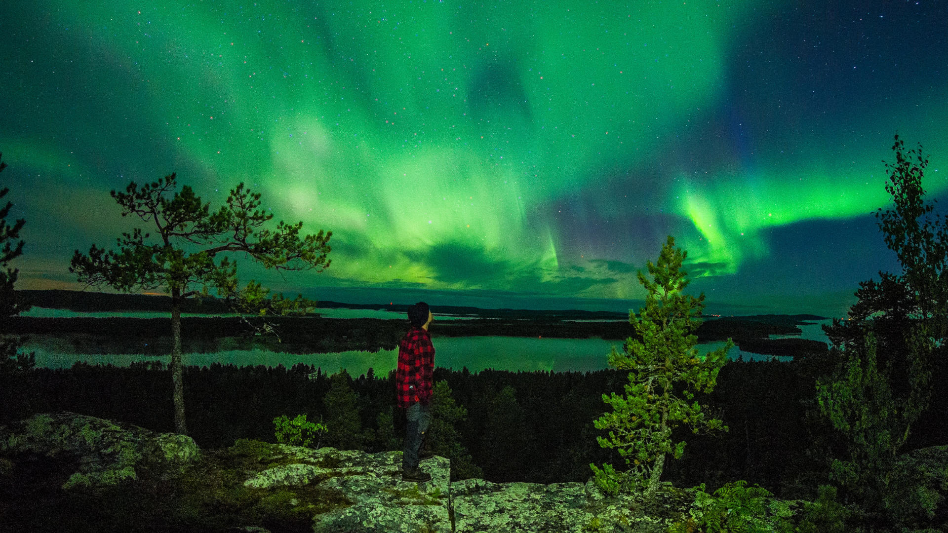 Country Fall Wallpaper Light Up Your Life With Aurora Borealis Film Lapland