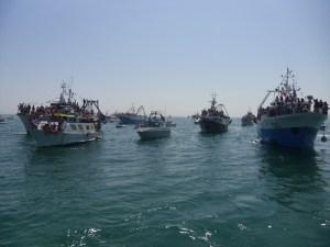 La processione in mare