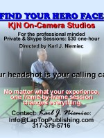 FINDING YOUR HERO FACE AT KjN On-Camera Studios