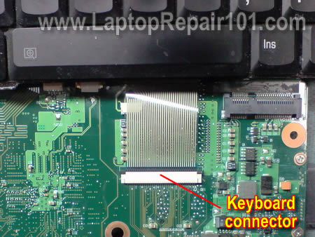 How to fix broken keyboard connector Laptop Repair 101