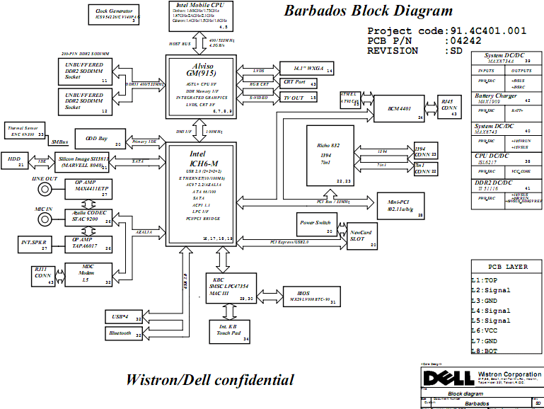 dell xps m1730 schematic block diagram