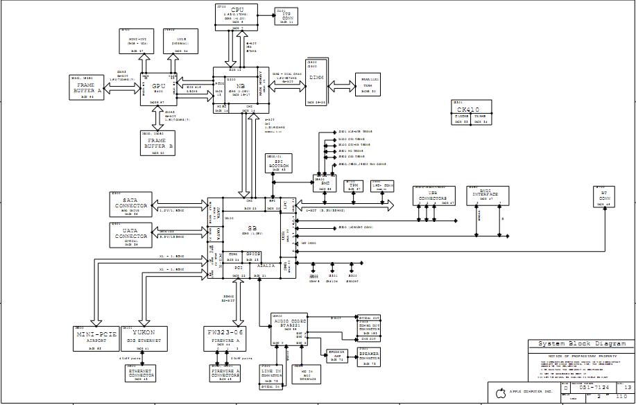apple i schematic diagram