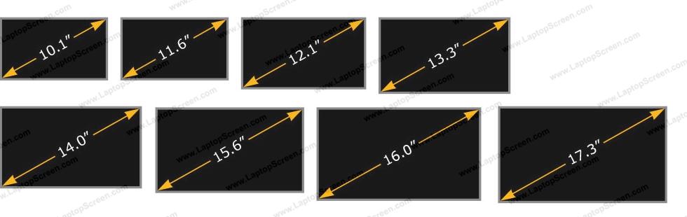 Measuring laptop screen size LaptopScreen