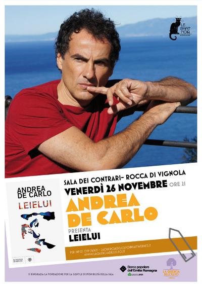 Andrea De Carlo - La Quercia dell'Elfo - poster 2010