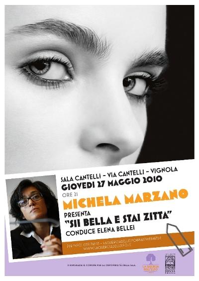 Michela Marzano - La Quercia dell'Elfo - poster 2010