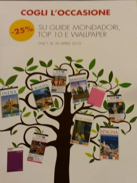 promozione guide di viaggio mondadori 2016
