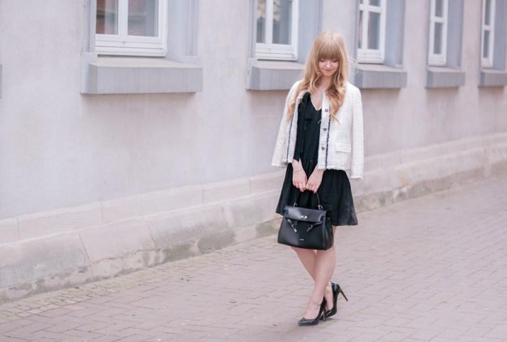 how-to-wear-zara-tweed-jacket-blazer-chic-classy-outfit-black-dress-dinslaken-fashion-blogger12