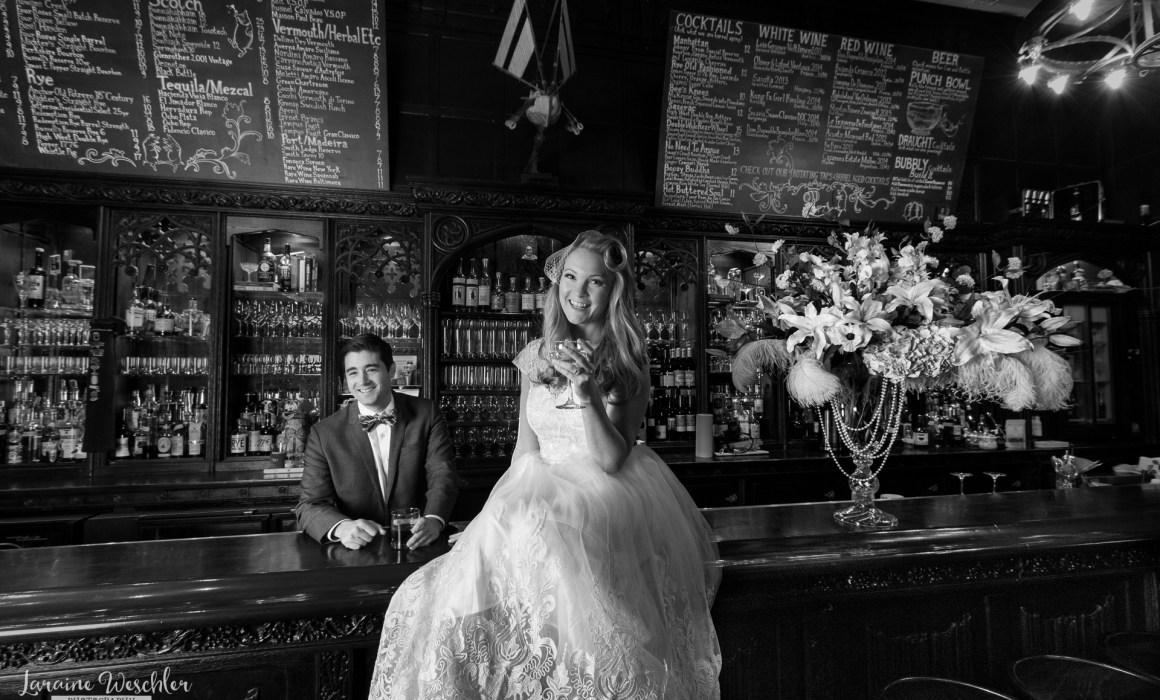 Great Gatsby vintage bridal shoot