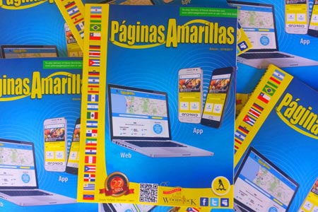 The Spanish Yellow Pages are Out!