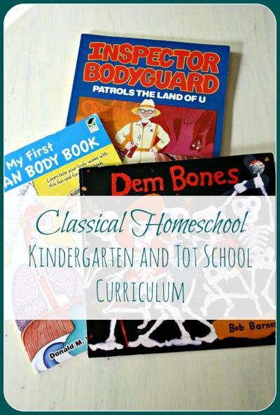 Our Classical Kindergarten and Tot School Homeschool Curriculum