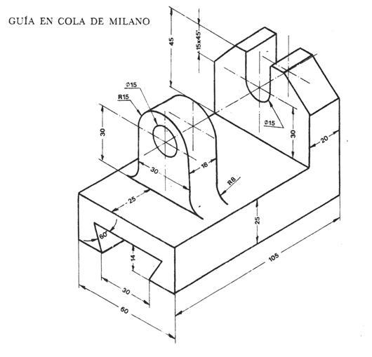 dibujo tecnico cortes y secciones