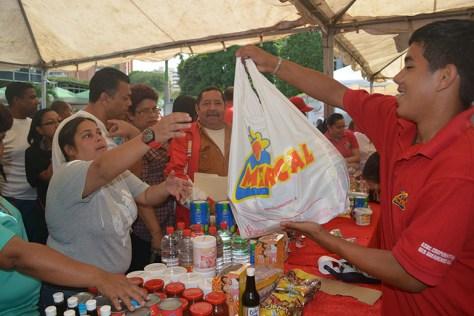 La misión Alimentación mostró fallas en el control de la fuga de productos y corrupción. Foto: AVN