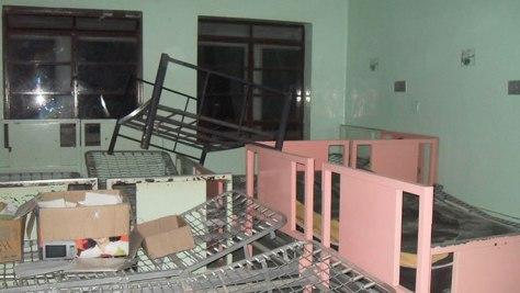 Las salas de hospitalización de Obstetricia II están inhabilitadas. Manuel Alegría