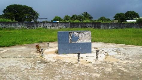 Tumba de Domingo Sifontes en el Cementerio de Tumeremo